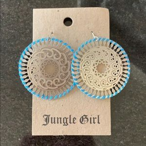 Jungle girl earrings
